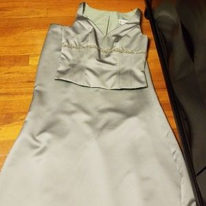 2 piece Bridesmaid Dress